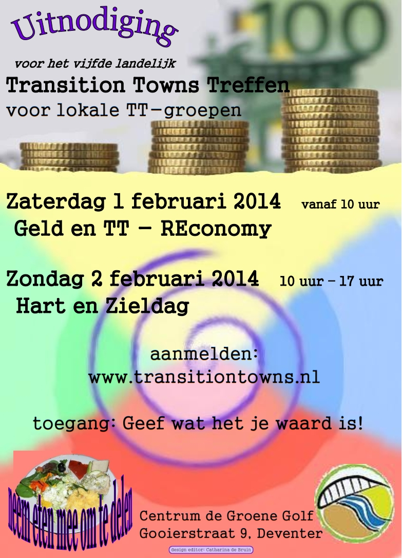 transition towns treffen 1&2 februari 2014